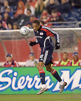 New England Revolution forward Khano Smith (18). The Chicago Fire defeated the New England Revolution, 3-0, at Gillette Stadium on May 3, 2008.
