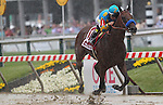May 16, 2015: American Pharoah, Victor Espinoza up, wins the 140th Preakness Stakes at Pimlico Race Course in Baltimore, MD. Trainer is Bob Baffert; owner is Zayat Stables. Joan Fairman Kanes/ESW/CSM