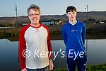 Enjoying a stroll in Blennerville on Tuesday evening, l to r: David and Tomas O'Connor