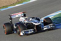 Formule 1: Test  Jerez 06/02/2013.PASTOR MALDONADO (VEN) WILLIAMS F1 TEAM ACTION .Jerez 06/02/2013 .Formula 1 2013 Test.Foto Gilles Levent / Panoramic / Insidefoto .ITALY ONLY