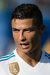 Cristiano Ronaldo of Real Madrid reacts during the La Liga 2017-18 match between Getafe CF and Real Madrid at Coliseum Alfonso Perez on 14 October 2017 in Getafe, Spain. Photo by Diego Gonzalez / Power Sport Images