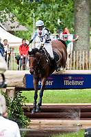 NZL-Megan Heath (ST DANIEL) 2012 GER-HSBC Luhmuhlen International Horse Trial - CCI**** XC-Saturday: INTERIM-