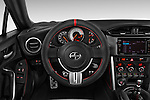 Car pictures of steering wheel view of a 2015 Scion FR-S Release 2 Door Coupe Steering Wheel