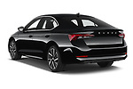 Car pictures of rear three quarter view of 2020 Skoda Octavia Style 5 Door Hatchback Angular Rear