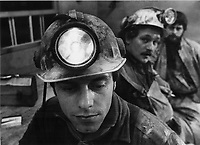 1980 FILE PHOTO - ARCHIVES -<br /> <br /> Mine BALMORAL, Val d'or, mai 1980, 8 mineurs sont prisonniers sous terre.<br /> <br /> 1980<br /> <br /> PHOTO :  Dick Loeb - Toronto Star Archives - AQP