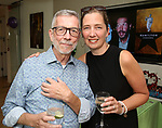 Sam Rudy and Jen Garvey-Blackwell attends the Retirement Celebration for Sam Rudy at Rosie's Theater Kids on July 17, 2019 in New York City.