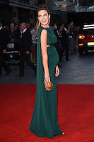 """Elizabeth Chambers<br /> at the London Film Festival 2016 premiere of """"Free Fire at the Odeon Leicester Square, London.<br /> <br /> <br /> ©Ash Knotek  D3182  16/10/2016"""