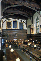 Oxford: Magdalen College Hall--Interior.