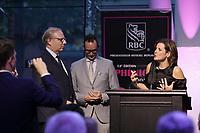 La Ministre de la Justice du Quebec  Stephanie Vallee, au Gala Phenicia 2018<br /> , le 31 mai 2018,a la Caisse de Depot et PLacements du Quebec.<br /> <br /> PHOTO : Agence Quebec Presse
