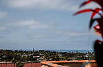 DEL MAR, CA  JULY 16: View of the ocean from the top floor of Del Mar (Photo by Casey Phillips/ Eclipse Sportswire/CSM)