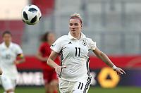 Alexandra Popp /   / Portrait       <br />/   World Championships Qualifiers women women /  2017/2018 / 07.04.2018 / DFB National Team / GER Germany vs. Czech Republic CZE 180407054 /      <br />IBAN:  <br /> *** Local Caption *** © pixathlon<br /> Contact: +49-40-22 63 02 60 , info@pixathlon.de