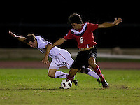 Nathan Smith, Parker Seymour. The United States defeated Canada, 3-0, during the final game of the CONCACAF Men's Under 17 Championship at Catherine Hall Stadium in Montego Bay, Jamaica.