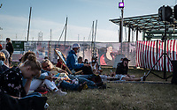 ambiance  pendant concert de  Gaetan Roussel <br /> public<br /> y'a des  Francos dans l'air 2020<br /> ©  VINSON/DALLE