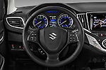 Car pictures of steering wheel view of a 2016 Suzuki Baleno Skycruise 2 Door Convertible Steering Wheel
