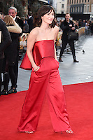 """Sarah Solamani<br /> arrives for the """"Florence Foster Jenkins"""" European premiere at the Odeon Leicester Square, London<br /> <br /> <br /> ©Ash Knotek  D3106 12/04/2016"""