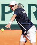 USA's Sam Riffice during Junior Davis Cup 2015 match. September  30, 2015.(ALTERPHOTOS/Acero)