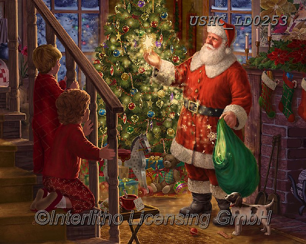 Liz,CHRISTMAS SANTA, SNOWMAN, WEIHNACHTSMÄNNER, SCHNEEMÄNNER, PAPÁ NOEL, MUÑECOS DE NIEVE, LizDillon, paintings+++++,USHCLD0253,#X#