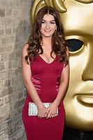 Holly Tandy<br /> arriving for the BAFTA Childrens Awards 2017 at the Roundhouse, Camden, London<br /> <br /> <br /> ©Ash Knotek  D3353  26/11/2017