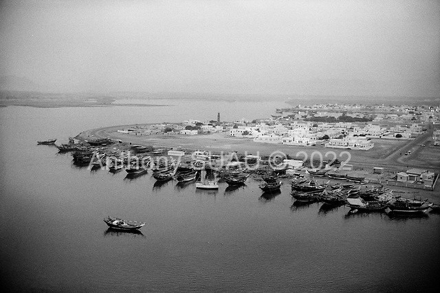 Sur, Oman<br /> July 2001<br /> <br /> The dhow construction port at the edge of the city.