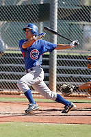 Jae-Hoon Ha - Chicago Cubs 2009 Instructional League.Photo by:  Bill Mitchell/Four Seam Images..