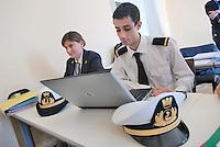 - Italian Academy of the Merchant Navy, advanced specialization school for the professions of the sea....- Accademia Italiana della Marina Mercantile, scuola superiore per le professioni del mare
