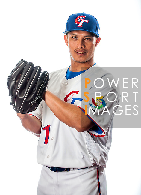 Yang, Yao-Hsun of Team Chinese Taipei poses during WBC Photo Day on February 25, 2013 in Taichung, Taiwan. Photo by Victor Fraile / The Power of Sport Images