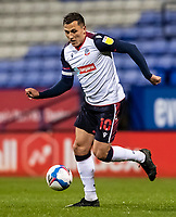 Bolton Wanderers' Antoni Sarcevic breaks<br /> <br /> Photographer Andrew Kearns/CameraSport<br /> <br /> The EFL Sky Bet League Two - Bolton Wanderers v Salford City - Friday 13th November 2020 - University of Bolton Stadium - Bolton<br /> <br /> World Copyright © 2020 CameraSport. All rights reserved. 43 Linden Ave. Countesthorpe. Leicester. England. LE8 5PG - Tel: +44 (0) 116 277 4147 - admin@camerasport.com - www.camerasport.com