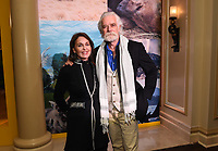 PASADENA, CA - JANUARY 17: (L-R) National Geographic Explorers-at-Large Beverly Joubert and Dereck Joubert attend the National Geographic 2020 TCA Winter Press Tour Party at the Langham Huntington on January 17, 2020 in Pasadena, California. (Photo by Frank Micelotta/National Geographic/PictureGroup)