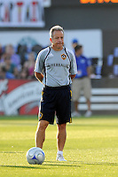 Dave Sarachan, Galaxy Asst Coach..Kansas City Wizards tied 1-1 with L.A Galaxy at Community America BallPark, Kansas City, Kansas.