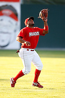 July 18, 2009:  Left Fielder Jairo Martinez of the Batavia Muckdogs during a game at Dwyer Stadium in Batavia, NY.  The Muckdogs are the NY-Penn League Short-Season Class-A affiliate of the St. Louis Cardinals.  Photo By Mike Janes/Four Seam Images
