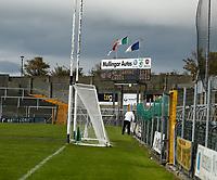 17th October 2020; TEG Cusack Park, Mullingar, Westmeath, Ireland; Allianz Football Division 2 Gaelic Football, Westmeath versus Laois; Score board in TEG Cusack Park shows the final score Westmeath (An Iarmhi) 1-18, to Laois 0-13