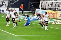 São Paulo (SP), 11/05/2021 - CORINTHIANS-INTER DE LIMEIRA - Roger, da Inter de Limeira comemora o gol. Corinthians e Inter de Limeira se enfrentam em jogo unico pelas quartas de final do Campeonato Paulista 2021, na Neo Quimica Arena, tarde desta terça-feira (11).