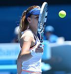 Agnieszka Radwanska (POL) defeats Victoria Azarenka (BLR) 6-1, 5-7, 6-0 At the Australian Open in Melbourne, Australia on January 22, 2014