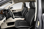 Front seat view of 2021 Chrysler Pacifica-Hybrid LIMITED 5 Door Minivan Front Seat  car photos