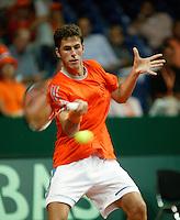 24-9-06,Leiden, Daviscup Netherlands-Tsjech Republic, Robin Haase