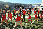 December 30, 2016: The Georgia Bulldogs cheerleaders performing in the forth quarter of the AutoZone Liberty Bowl inside Liberty Bowl Memorial Stadium in Memphis, Tennessee. ©Justin Manning/Eclipse Sportswire/Cal Sport Media