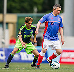 Aegon Ajax All Stars plays Rangers All Stars during the HKFC Citibank International Soccer Sevens at the Hong Kong Football Club on 25 May 2013 in Hong Kong, China. Photo by Victor Fraile / The Power of Sport Images