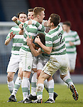 Mark Hill takes the acclaim for Celtic's second goal