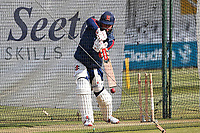 Sir Alastair Cook of Essex in the nets ahead of Essex CCC vs Durham CCC, LV Insurance County Championship Group 1 Cricket at The Cloudfm County Ground on 16th April 2021