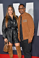 "LOS ANGELES, USA. October 07, 2019: Roberta Moradfar & Martin Lawrence at the premiere of ""Gemini Man"" at the TCL Chinese Theatre, Hollywood.<br /> Picture: Paul Smith/Featureflash"