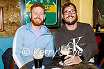 Enjoying the evening in Sean Og's on Thursday, l to r: Eoin Fallon and Shane Flatman.
