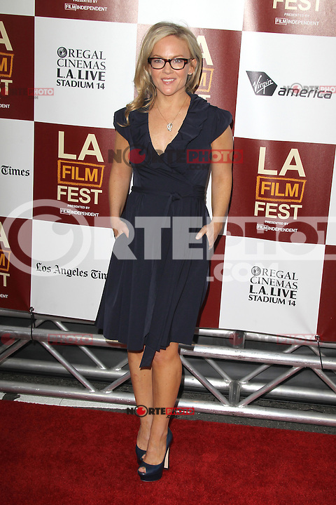 Rachael Harris at Film Independent's 2012 Los Angeles Film Festival Premiere of 'To Rome With Love' at Regal Cinemas L.A. LIVE Stadium 14 on June 14, 2012 in Los Angeles, California. ©mpi21/MediaPunch Inc. NORTEPHOTO.COM<br /> NORTEPHOTO.COM<br /> *credito*obligatorio*<br /> *SOLO*VENTA*EN*MEXICO*