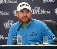 190719 | The 148th Open - Day 2<br /> <br /> JB Holmes of USA at his media conference after his second round during the 148th Open Championship at Royal Portrush Golf Club, County Antrim, Northern Ireland. Photo by John Dickson - DICKSONDIGITAL