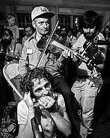 FILE PHOTO -  Alain lamontagne, Philippe Gagnon, Tremblay en 1979<br /> <br /> PHOTO :  Andre Boucher - Agence quebec Presse<br /> <br /> HI RES Sur demande - aucune restriction