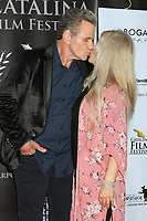 LOS ANGELES - SEP 26:  Martin Kove and Mary Scavo Squire at the Catalina Film Festival Drive Thru Red Carpet, Saturday at the Scottish Rite Event Center on September 26, 2020 in Long Beach, CA