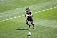 LA Sol's Stephanie Cox looks for a teammate. The Boston Breakers and LA Sol played to a 0-0 draw at Home Depot Center stadium in Carson, California on Sunday May 10, 2009.   .