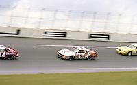 Kyle Petty 7 action Firecracker 400 at Daytona International Speedway in Daytona Beach, FL on July 4, 1983. (Photo by Brian Cleary/www.bcpix.com)