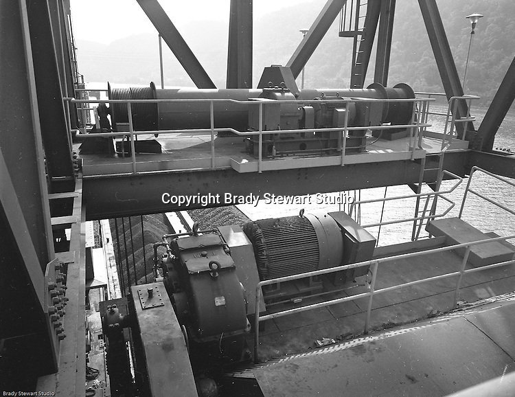 Client: Heyl and Patterson Company<br /> Ad Agency: Heyl and Patterson Marketing<br /> Product: Coal Handling and Processing Equipment<br /> Location: New Florence PA:  <br /> <br /> On location photography for Heyl & Patterson. Coal handling conveyor in position to pull coal up to the Conemaugh Power Plant. <br /> Founded in 1887, Heyl & Patterson is a leader in the design and construction of bulk transfer and thermal processing equipment for customers in a wide range of industries, including chemical, steel, biomass, energy, ports, and mining & minerals.