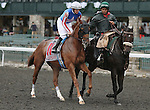 Whyruawesome and E. T. Baird in the 23rd running of the Bourbon Grade 3 $150,000 at Keeneland Race Course.   October 06, 2013.