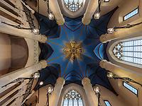 Treppenhaus zum Turm,Welfen  - Schloss Marienburg bei Pattensen, Niedersachsen, Deutschland, Europa<br /> Stairway of the tower, Castle oft he Welfs near Pattensen , Lower Saxony, Germany, Europe